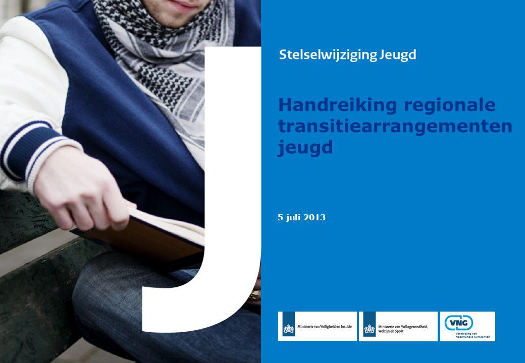 Handreiking regionale transitiearrangementen jeugd