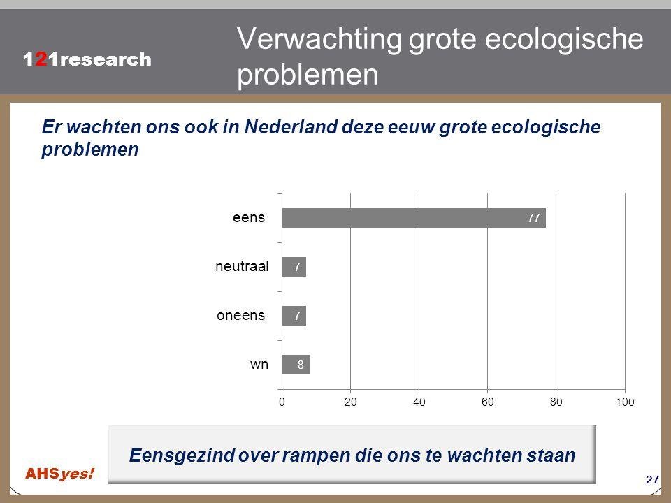 Verwachting grote ecologische problemen