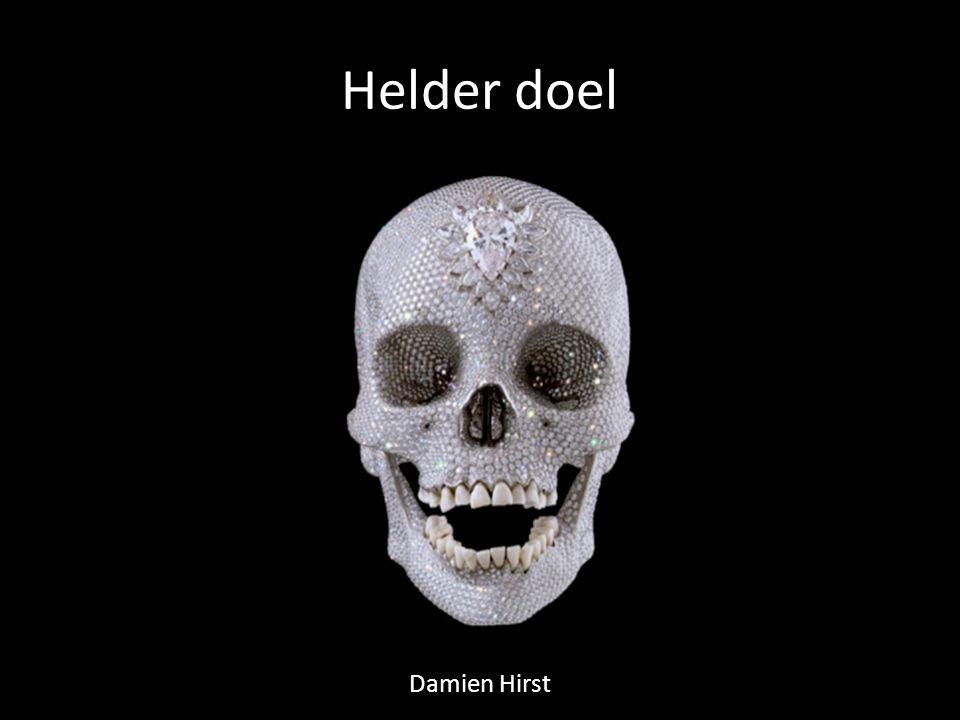 Helder doel Damien Hirst