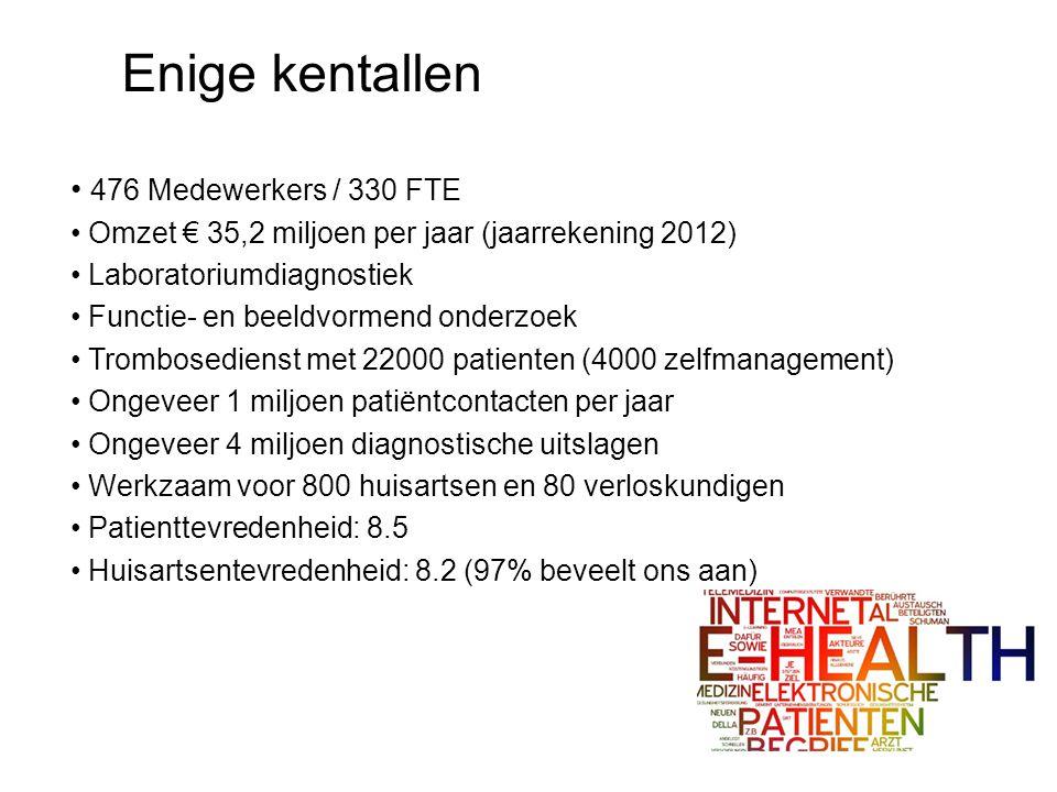 Enige kentallen 476 Medewerkers / 330 FTE