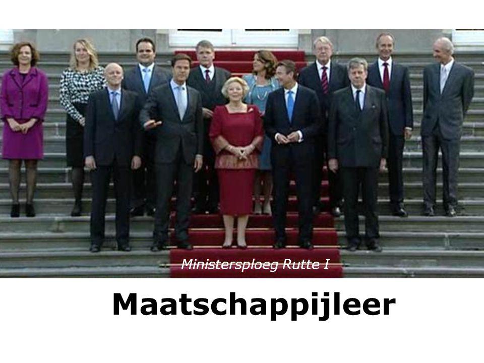 Ministersploeg Rutte I