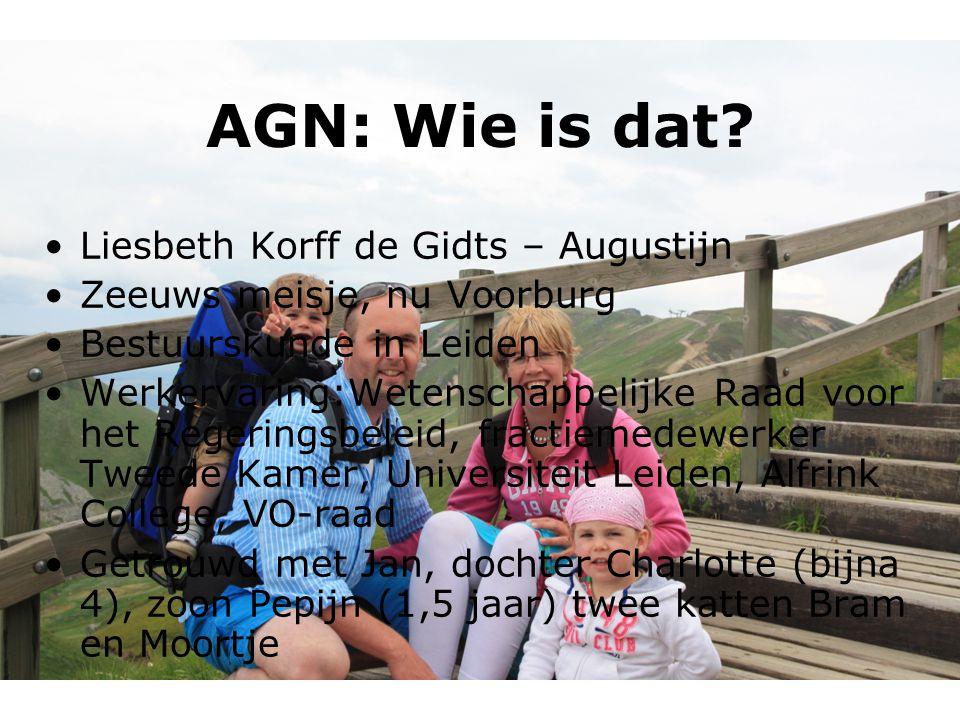 AGN: Wie is dat Liesbeth Korff de Gidts – Augustijn