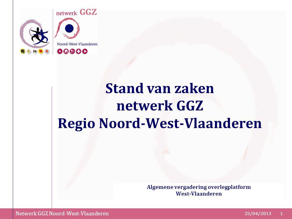 Stand van zaken netwerk GGZ Regio Noord-West-Vlaanderen