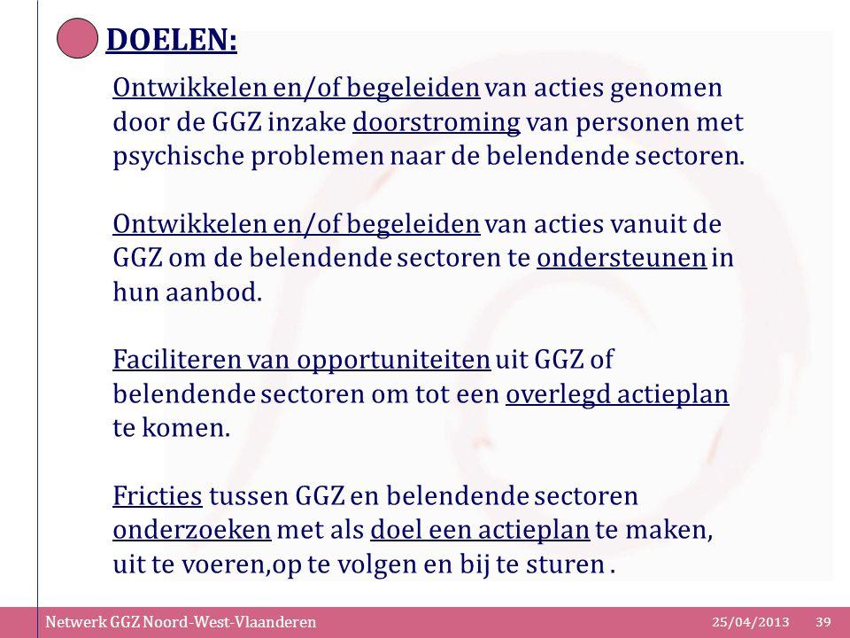 DOELEN: