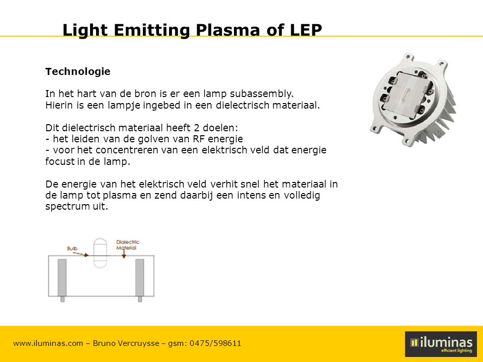 light emitting plasma