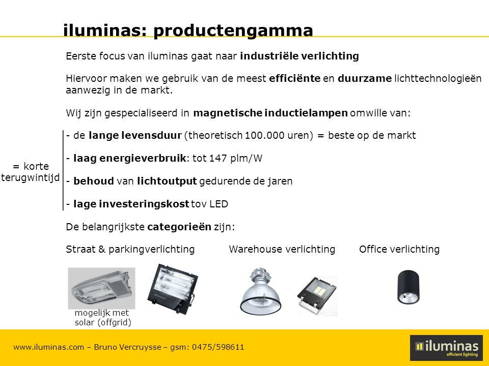 iluminas: productengamma