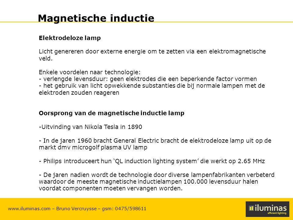 Magnetische inductie Elektrodeloze lamp