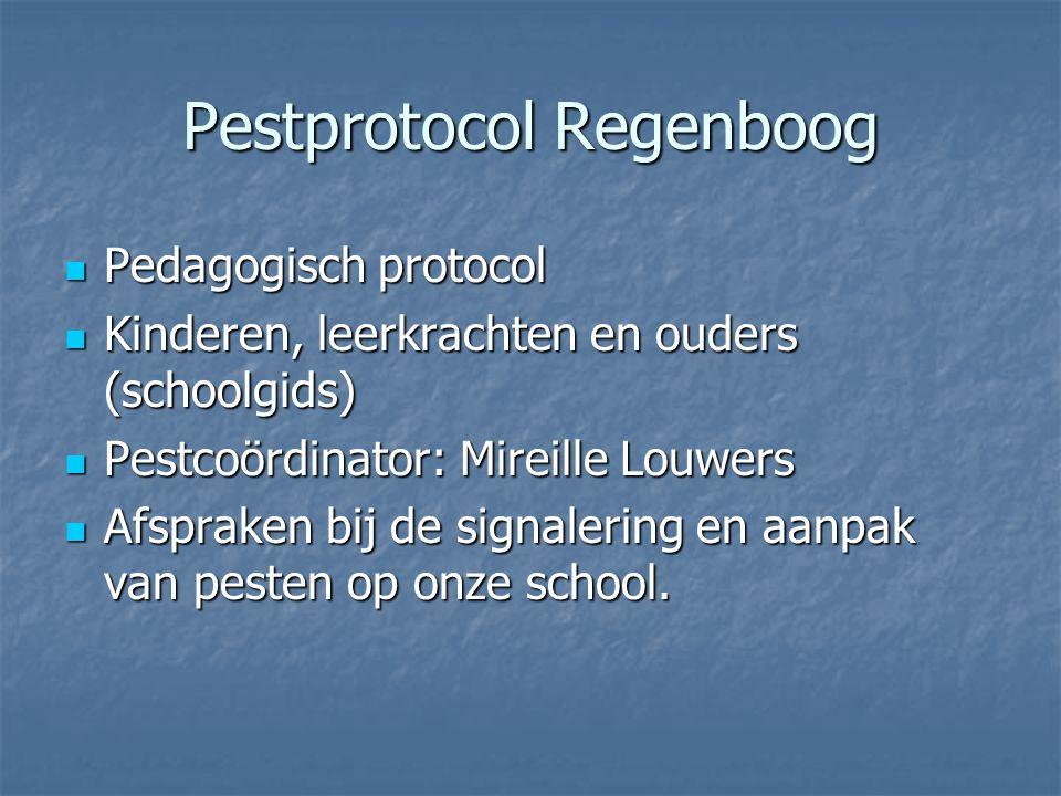 Pestprotocol Regenboog