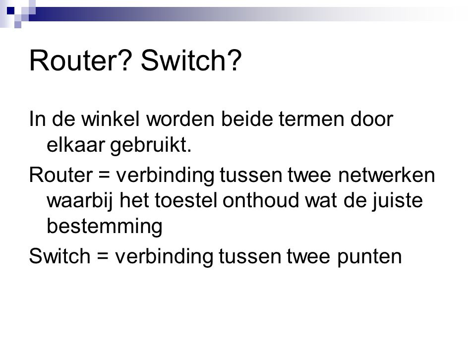 Router Switch