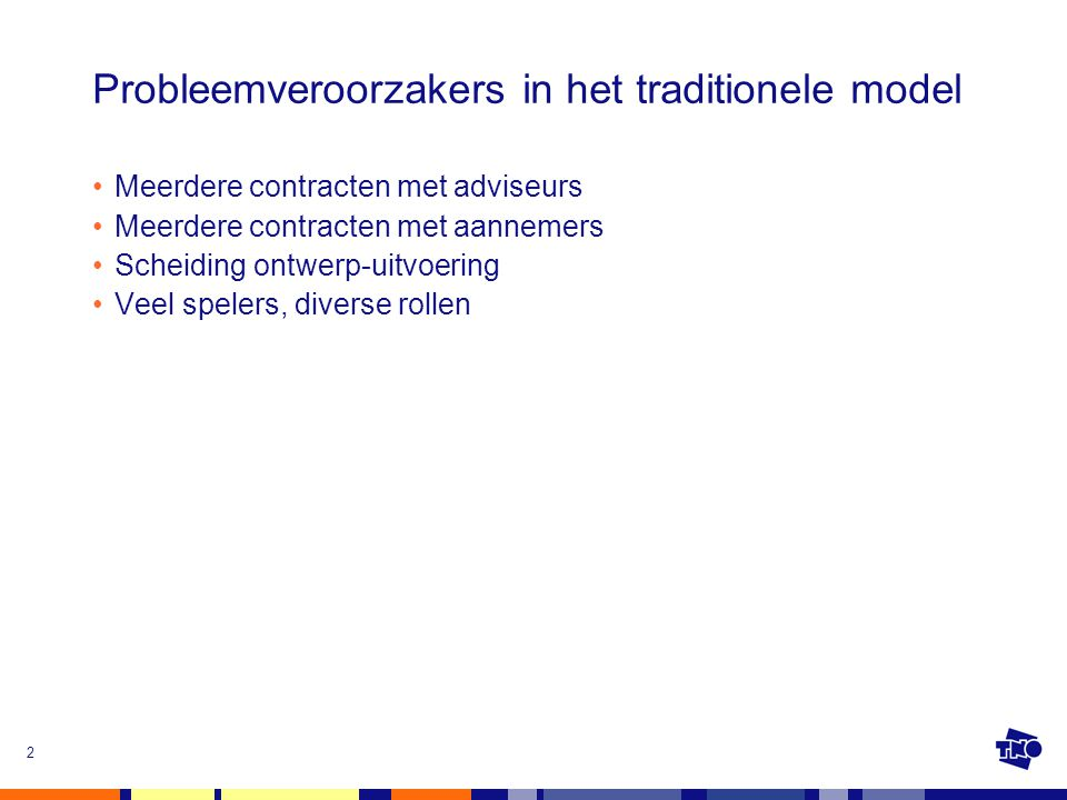 Probleemveroorzakers in het traditionele model