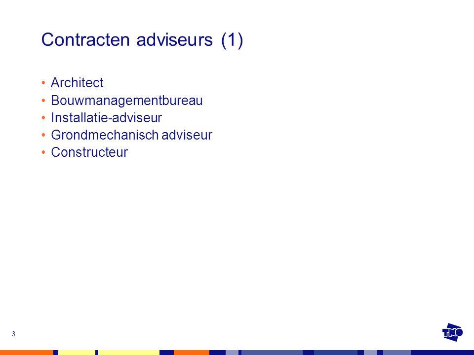 Contracten adviseurs (1)