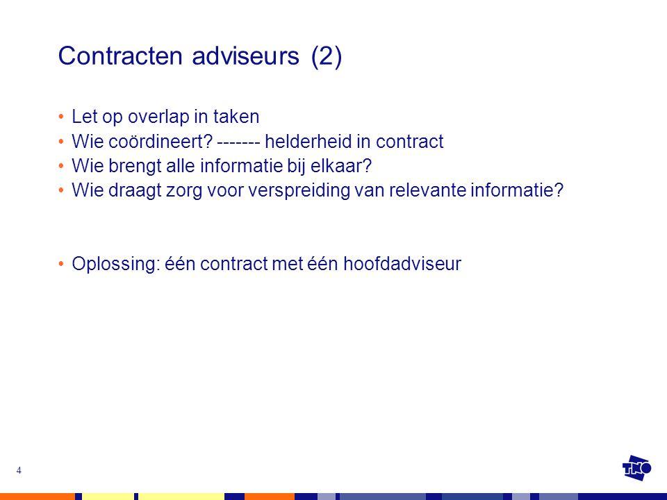 Contracten adviseurs (2)