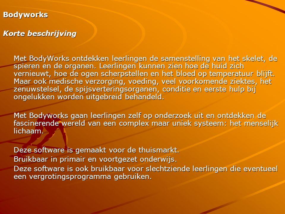 Bodyworks Korte beschrijving.