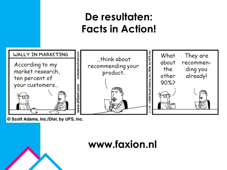 De resultaten: Facts in Action!