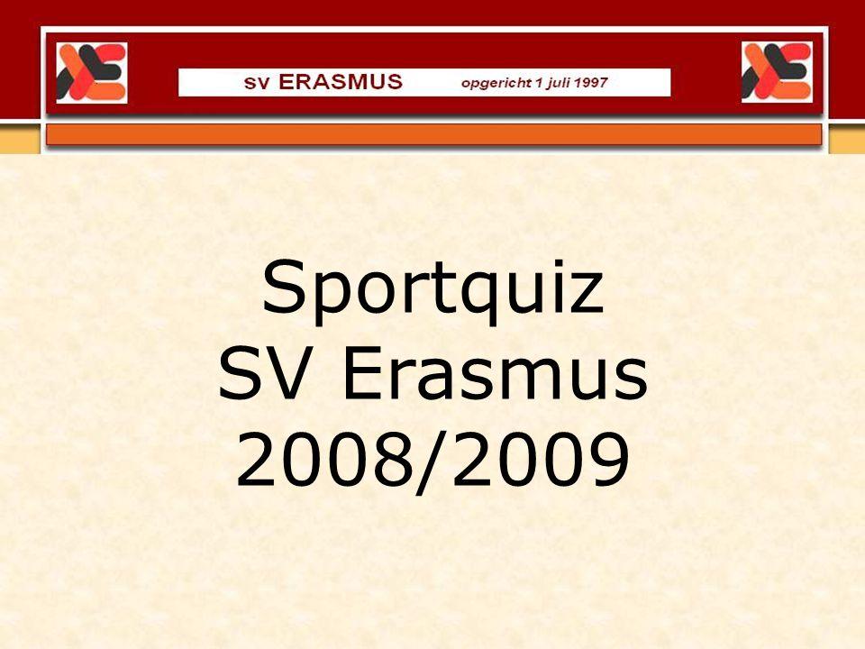 Sportquiz SV Erasmus 2008/2009