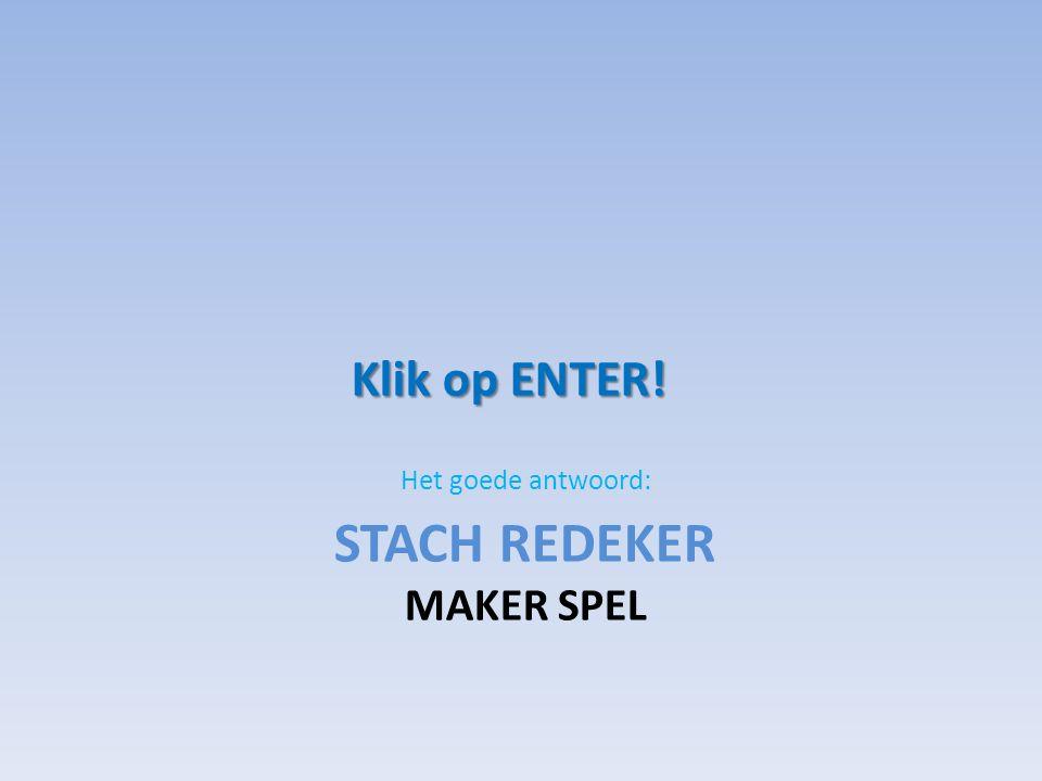 Stach redeker Maker spel