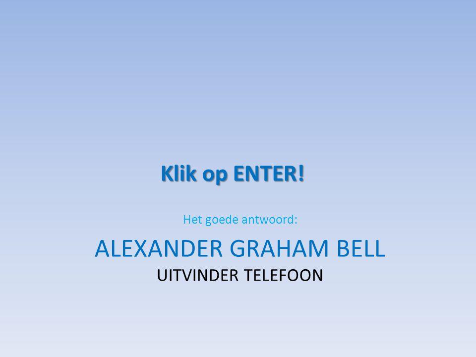 Alexander Graham Bell Uitvinder telefoon