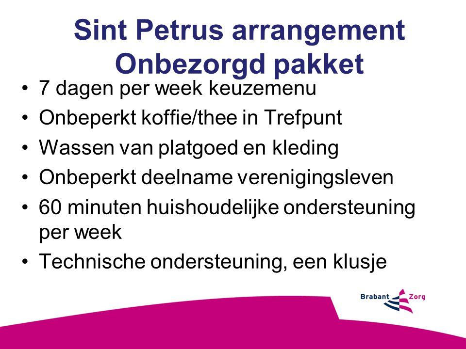 Sint Petrus arrangement Onbezorgd pakket