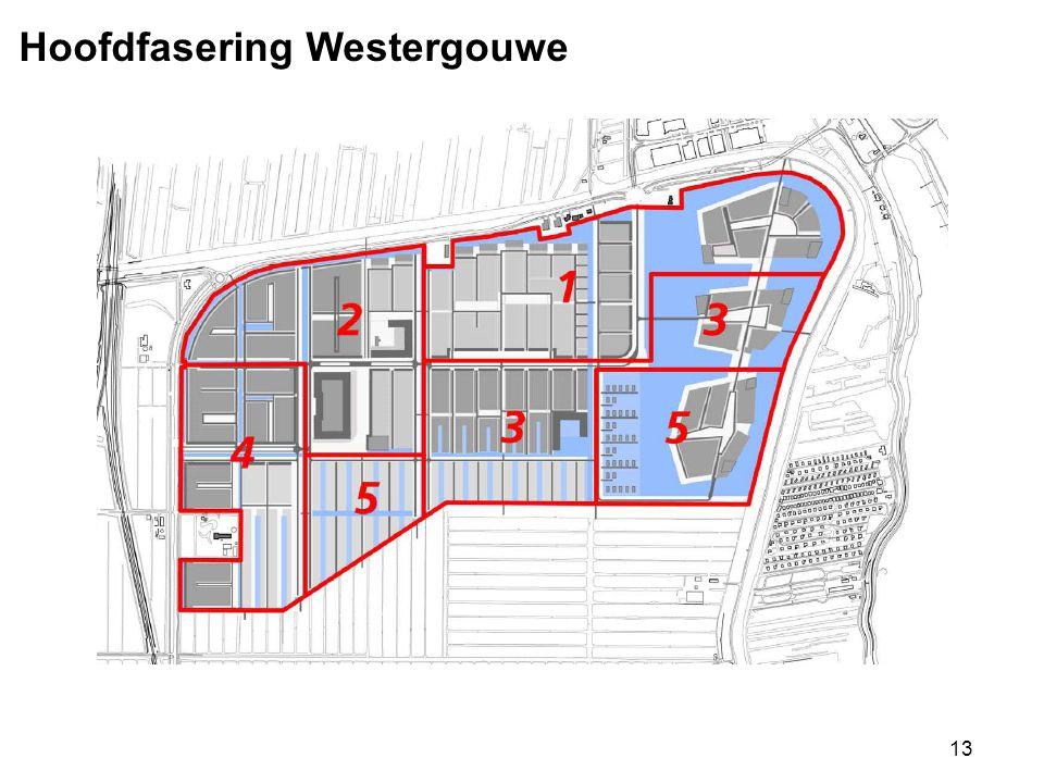 Hoofdfasering Westergouwe