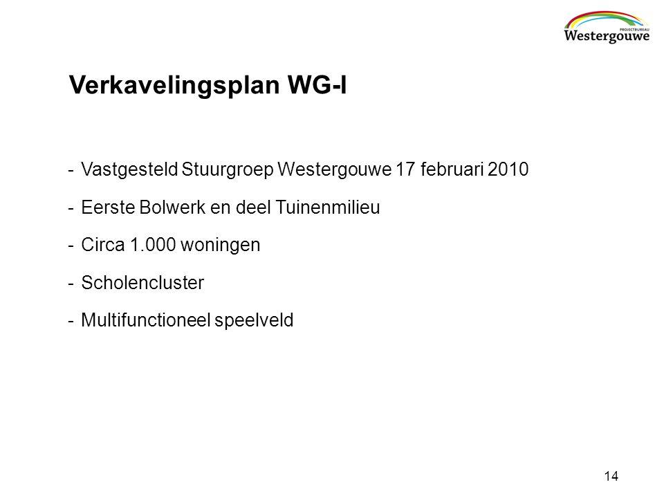Verkavelingsplan WG-I