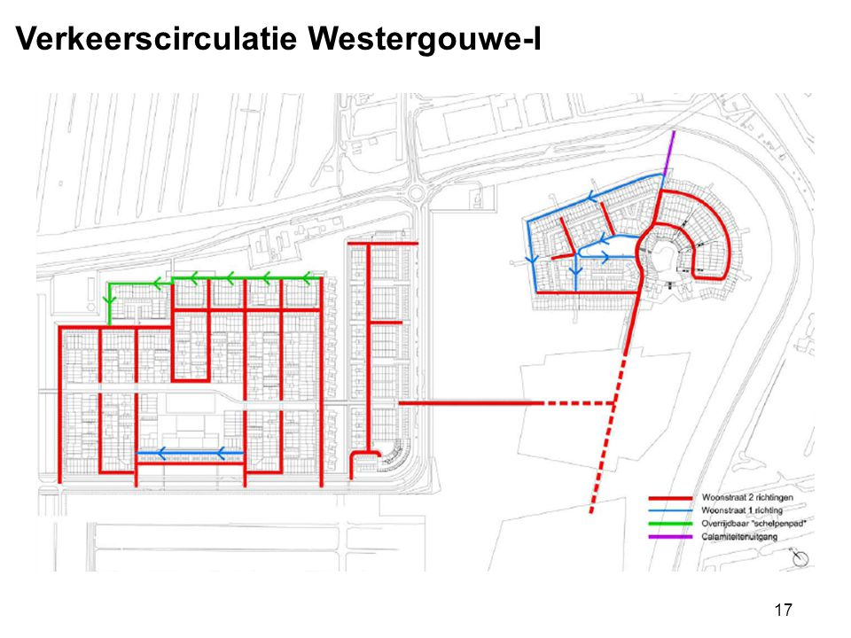 Verkeerscirculatie Westergouwe-I