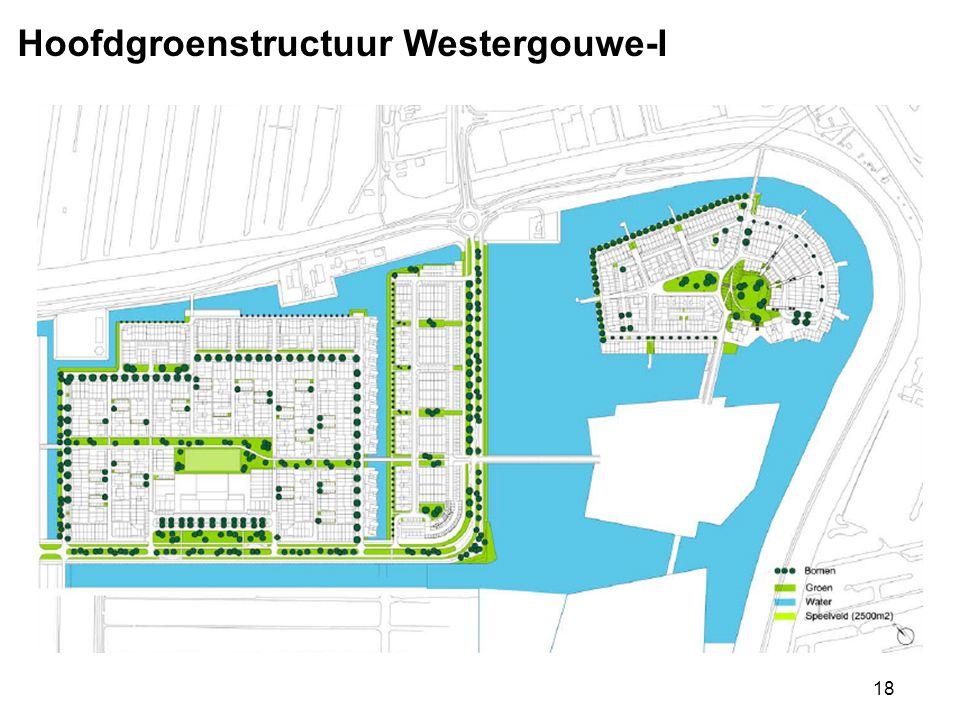 Hoofdgroenstructuur Westergouwe-I