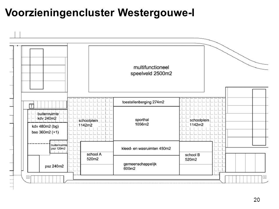 Voorzieningencluster Westergouwe-I
