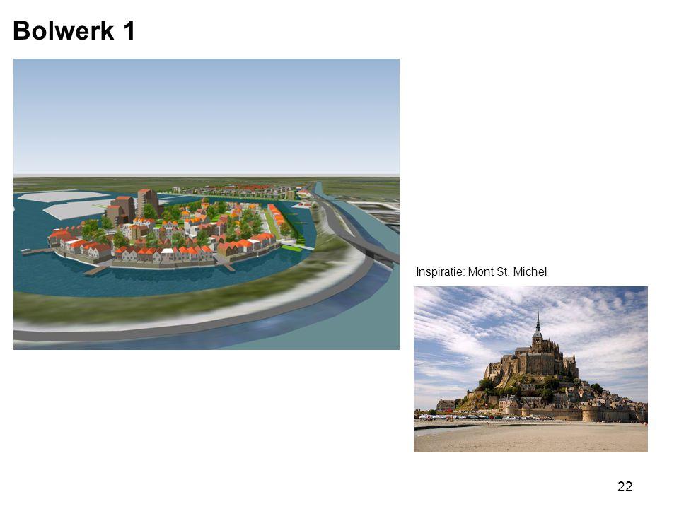 Bolwerk 1 Inspiratie: Mont St. Michel