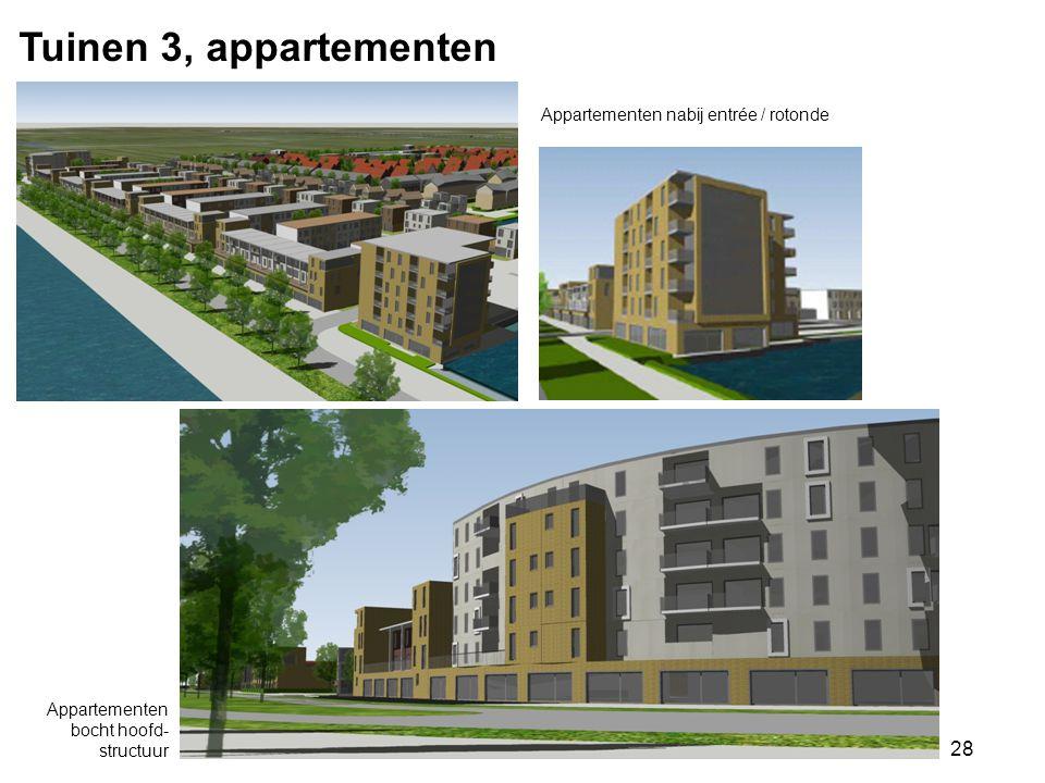 Tuinen 3, appartementen Appartementen nabij entrée / rotonde