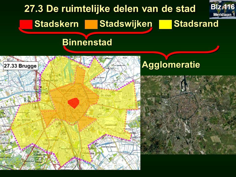 27.3 De ruimtelijke delen van de stad