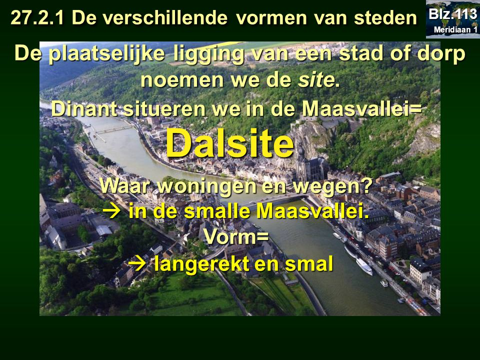 27.2.1 De verschillende vormen van steden