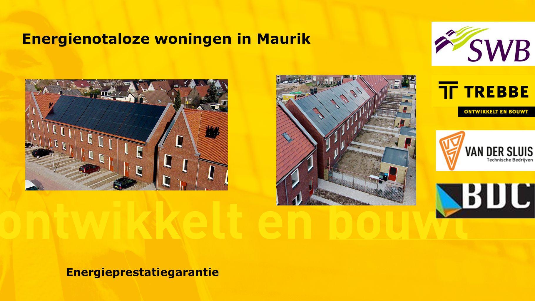 Energienotaloze woningen in Maurik