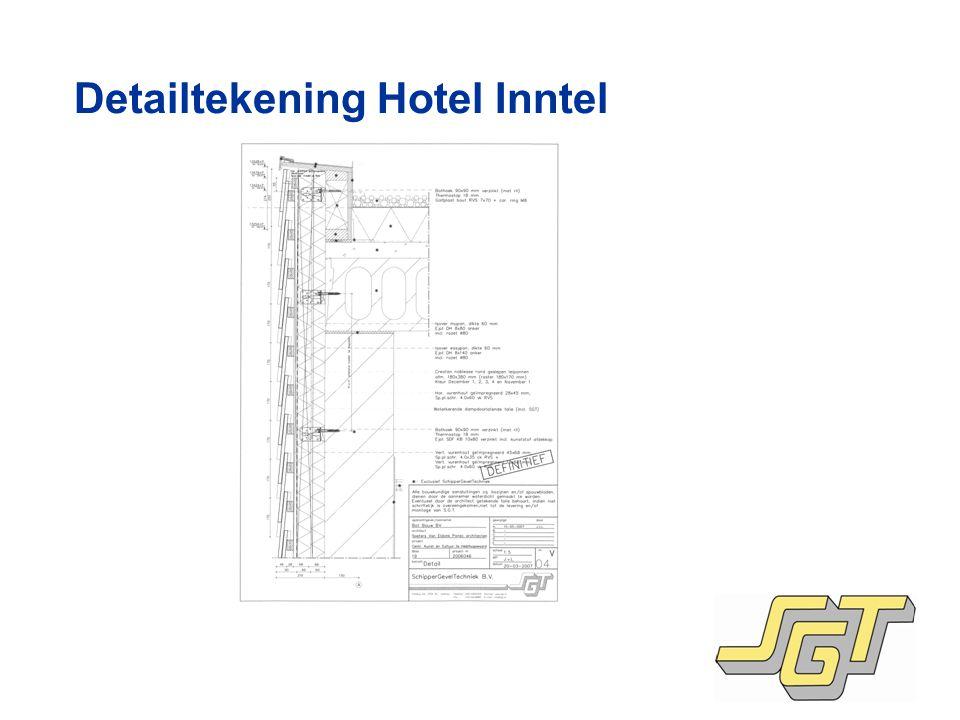 Detailtekening Hotel Inntel