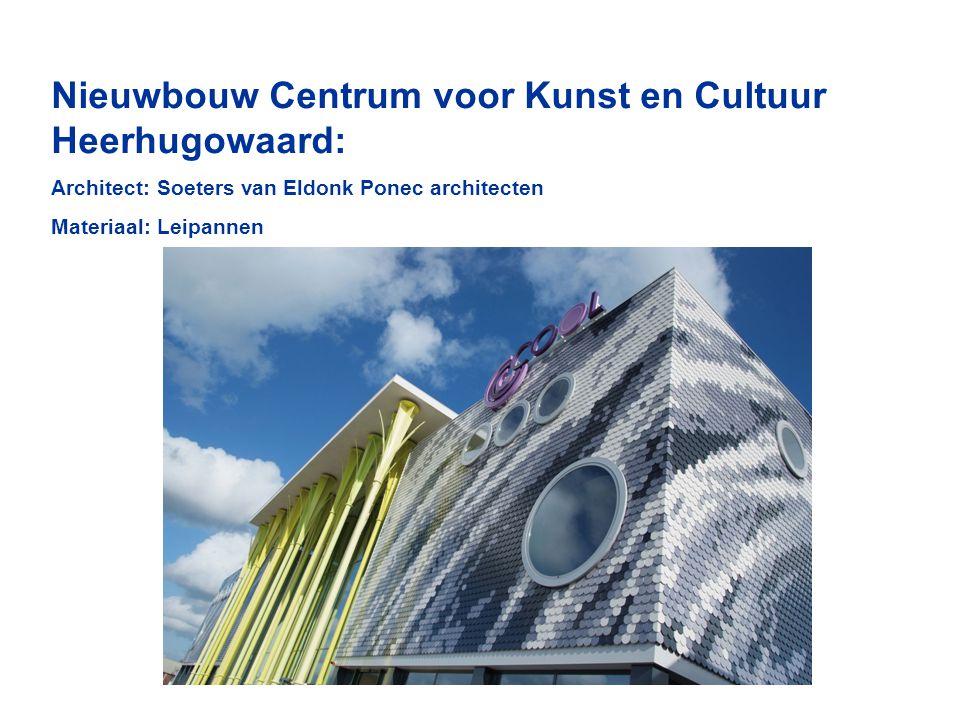 Nieuwbouw Centrum voor Kunst en Cultuur Heerhugowaard:
