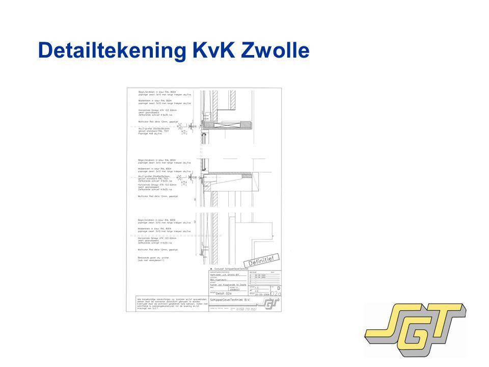 Detailtekening KvK Zwolle