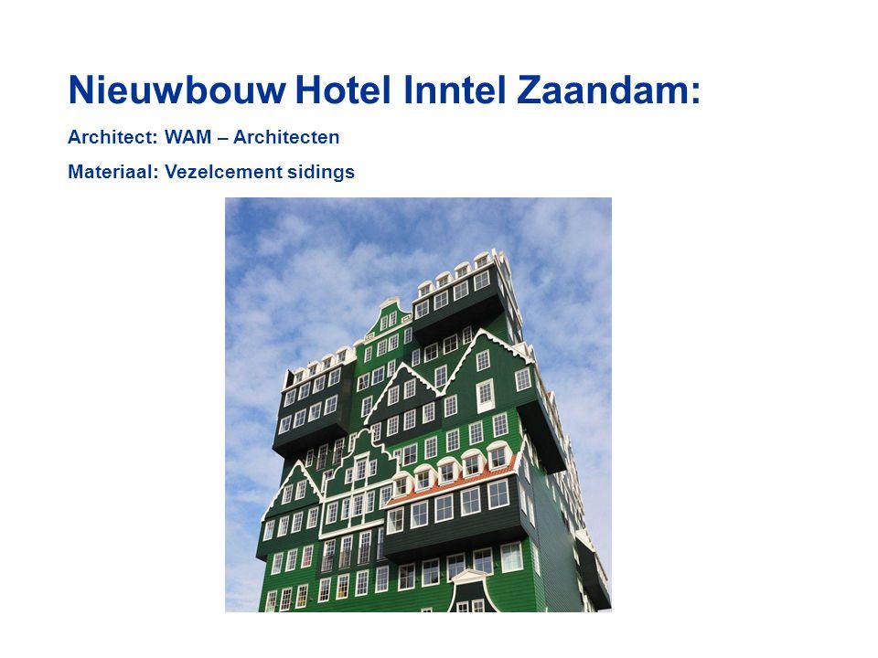 Nieuwbouw Hotel Inntel Zaandam: