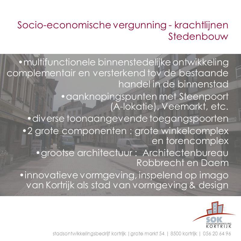 Socio-economische vergunning - krachtlijnen Stedenbouw