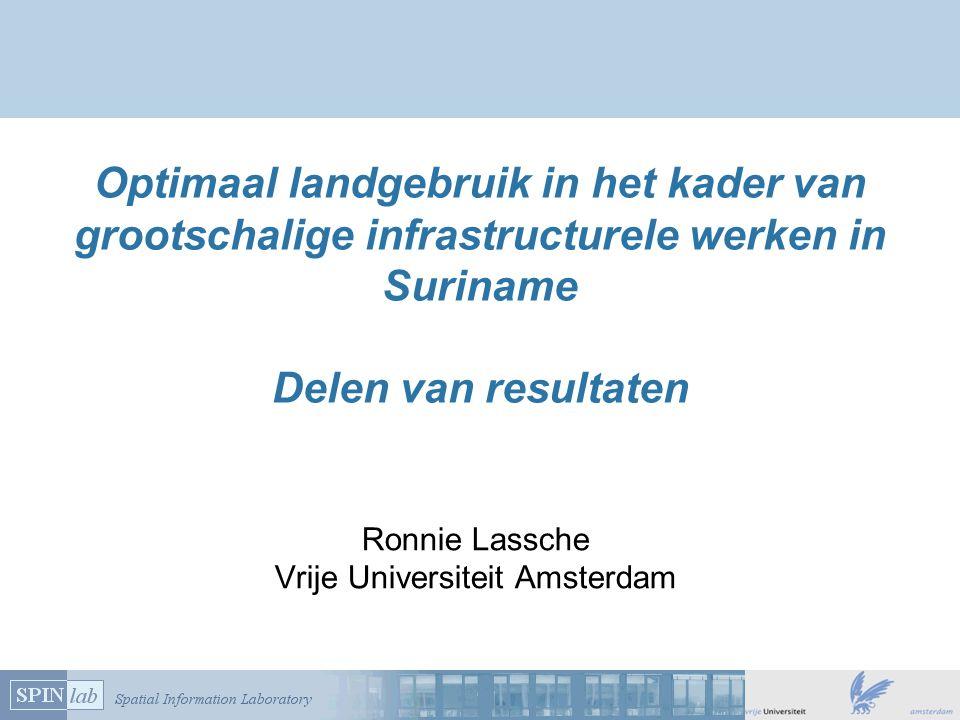 Ronnie Lassche Vrije Universiteit Amsterdam