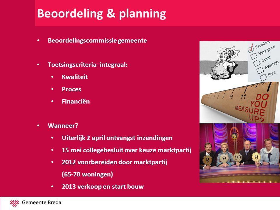 Beoordeling & planning
