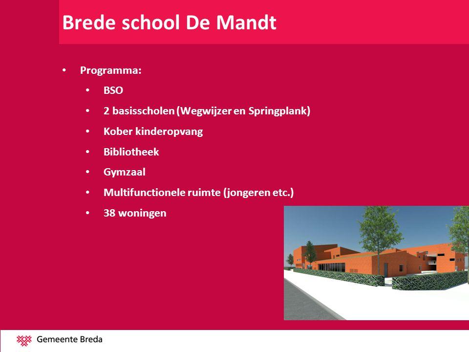 Brede school De Mandt Programma: BSO