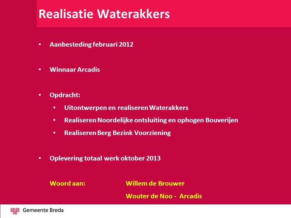 Realisatie Waterakkers