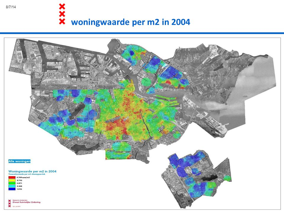 4/4/17 woningwaarde per m2 in 2004