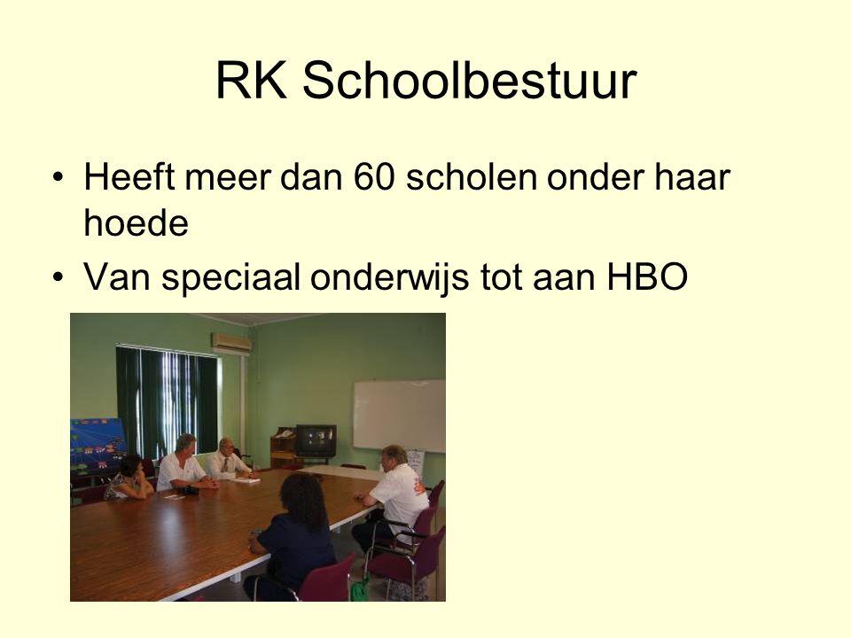 RK Schoolbestuur Heeft meer dan 60 scholen onder haar hoede