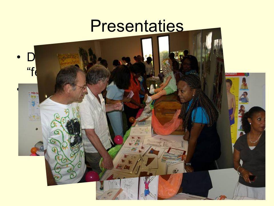 Presentaties Deze leerkrachten hebben het felbegeerde papiertje binnen.