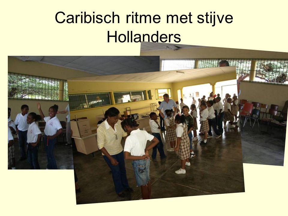 Caribisch ritme met stijve Hollanders