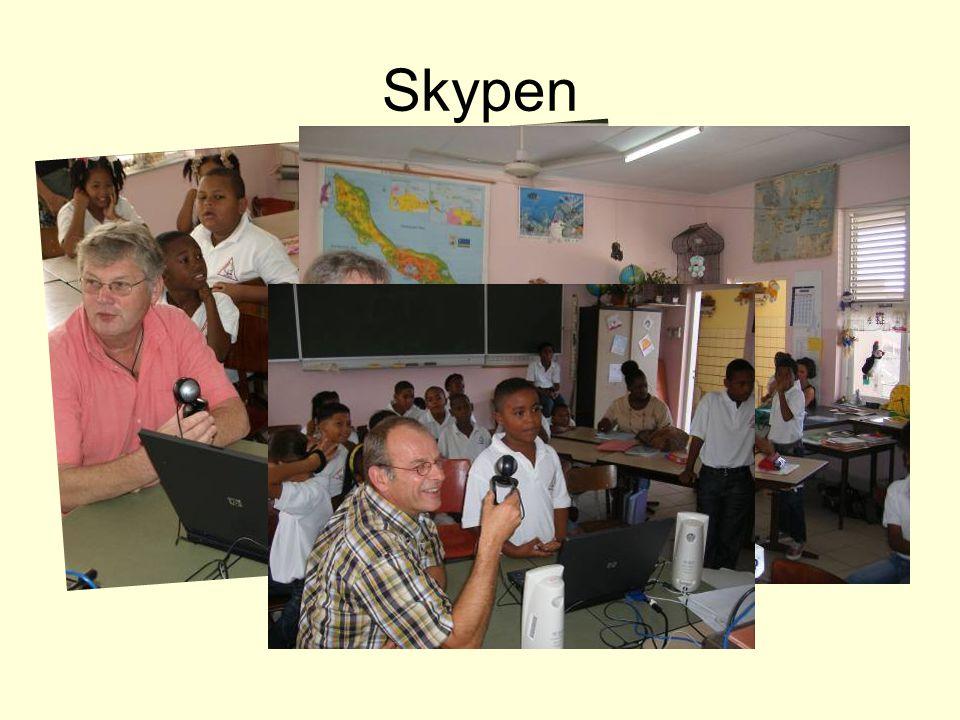 Skypen