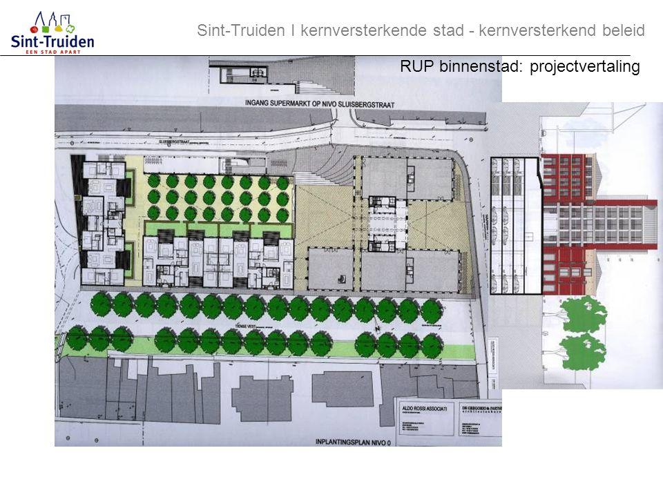 Sint-Truiden І kernversterkende stad - kernversterkend beleid