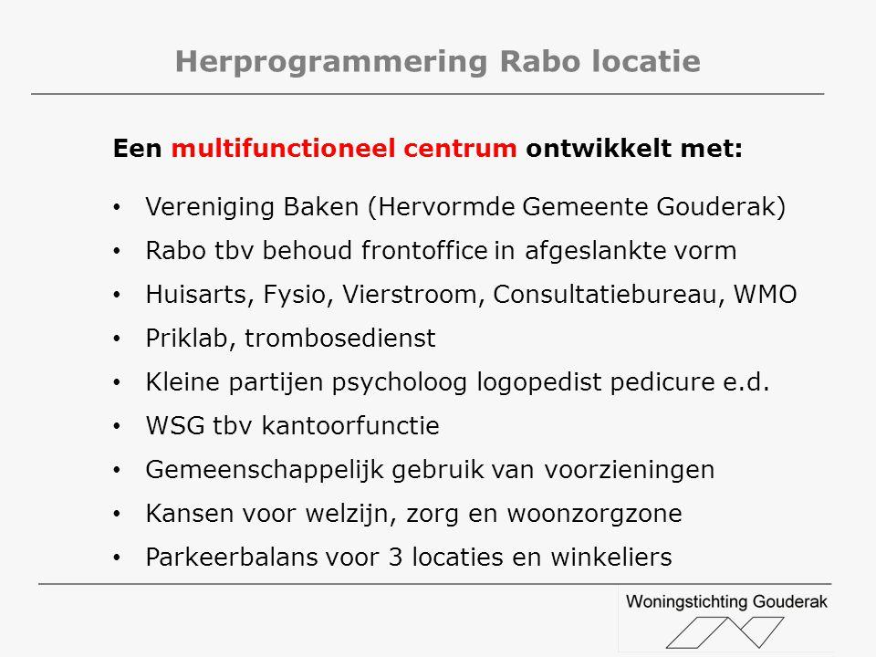 Herprogrammering Rabo locatie