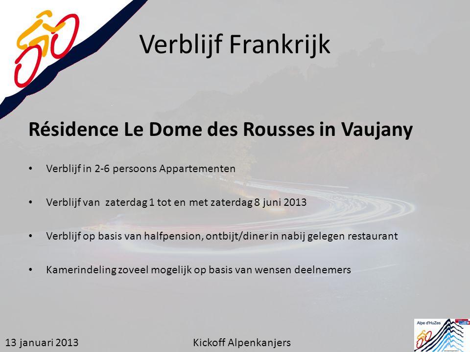 Verblijf Frankrijk Résidence Le Dome des Rousses in Vaujany