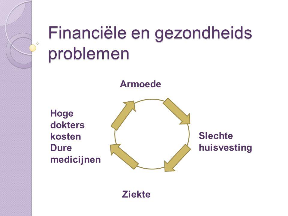 Financiële en gezondheids problemen